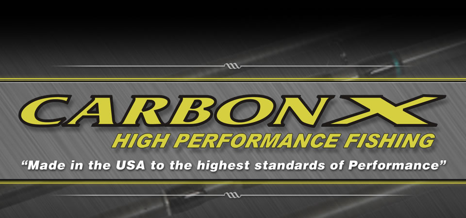 Carbon X™ Fishing Rods